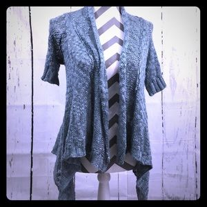 💜 NWOT! ✨ Decree ✨ Blue knit Cardigan